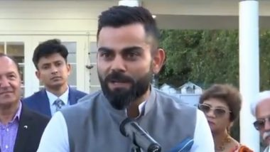 Virat Kohli Urges Indian Citizens To Maintain Social Distancing, Says 'This Fight is Not as Easy as it Looks' (Watch Video)