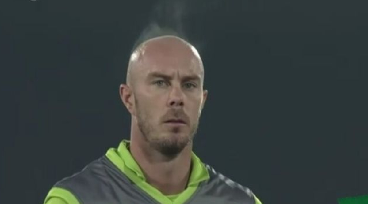 PSL 2020: Chris Lynn's Head Releasing Heat Video During Lahore Qalandars vs Peshawar Zalmi Goes Viral