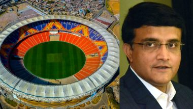 BCCI Shares Close-Up of Motera Stadium, Sourav Ganguly Says Eden Gardens Not Anymore the Largest Cricket Stadium in India