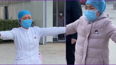 Chinese Nurse Treating Coronavirus Patients Gives an 'Air Hug' to Crying Daughter, Heartbreaking Video Goes Viral