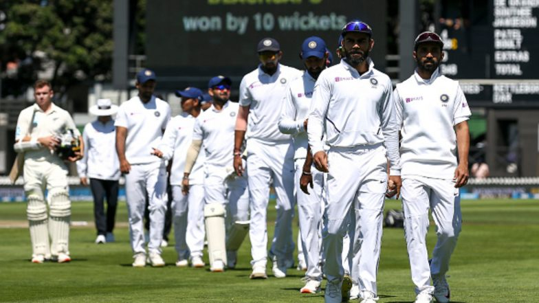 India vs New Zealand 1st Test 2020 Match Report: Tim Southee Picks Five-Wicket Haul As Kiwis Thrash Visitors by 10 Wickets