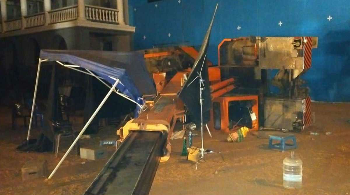Indian 2 Shooting Accident: 3 Die After Crane Crashes At Movie Sets; Kamal Hassan Escapes Unhurt