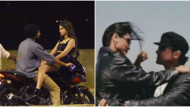Vijay Deverakonda-Ananya Panday's Leaked Pics from Puri Jagannadh's Film Shoot Will Remind You of Aamir Khan-Rani Mukerji from Ghulam