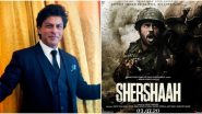Shah Rukh Khan to Have a Cameo in Sidharth Malhotra and Kiara Advani's Shershaah?