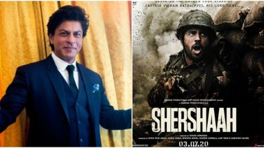 Shah Rukh Khan to Have a Cameo in Sidharth Malhotra and Kiara Advani's Shershaah?