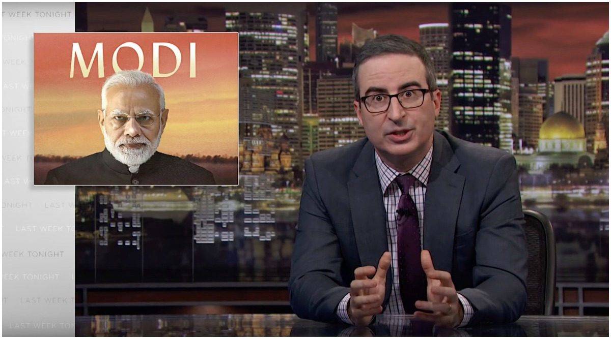 John Oliver's Episode Criticising PM Narendra Modi Goes Missing From Hotstar; Disney India Accused of Indulging in Self-Censorship