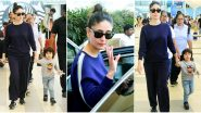 Kareena Kapoor Khan Keeps her Airport Fashion Extremely Basic as She Returns with Taimur (View Pics)