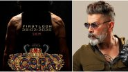 Cobra: Watch OUT! The First Look of Chiyaan Vikram's Ajay Gnanamuthu Thriller to Arrive on This Date