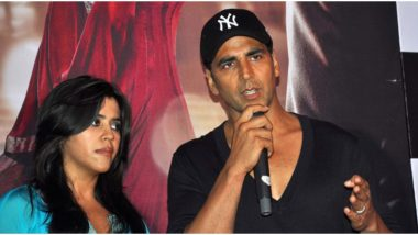 Akshay Kumar to Collaborate with Ekta Kapoor for an Action Comedy, Film to Release in 2021?