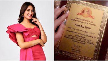 Bigg Boss 13 Fame Mahira Sharma Faked her Dadasaheb Phalke Award Certificate for the Best Dressed Celebrity Inside BB House