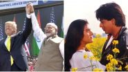 Namaste Trump: US President Donald Trump Says World Loves Bollywood and People Take Joy in Watching Films like DDLJ