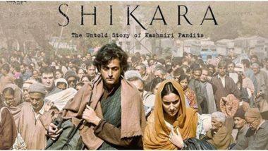 Shikara Quick Movie Review: Vidhu Vinod Chopra's, Film on Kashmir Exodus is a Painful Reminder