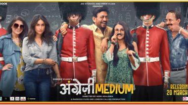 Irrfan Khan, Radhika Madan and Kareena Kapoor Khan's Angrezi Medium Gets Preponed, Will Now Release on March 13, 2020