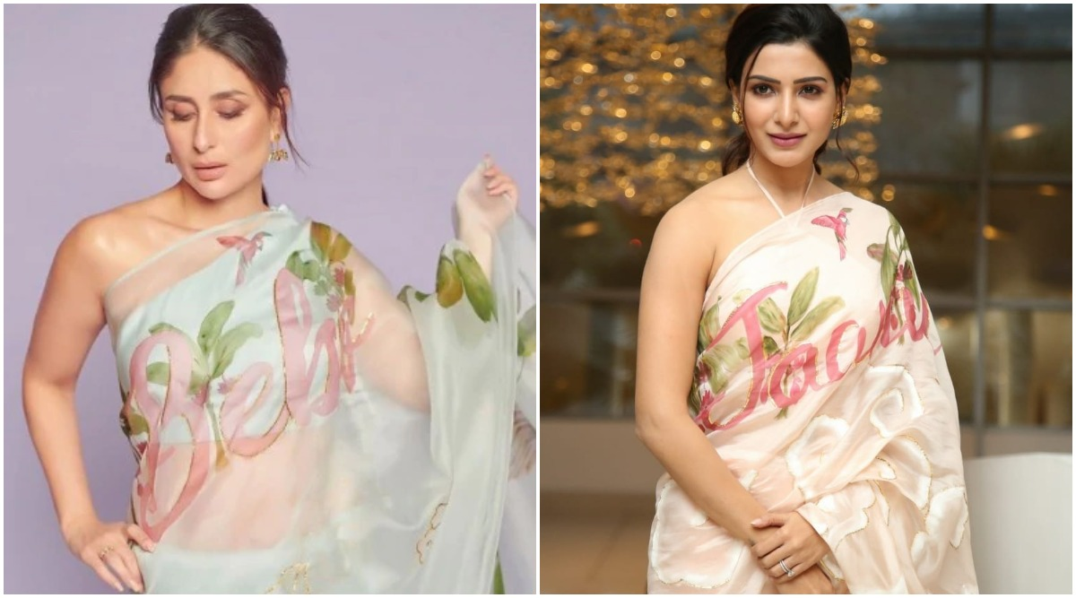 Samantha Akkineni Goes Kareena Kapoor Khan Way, Gets her Movie, Jaanu's Name Printed on a Saree (View Pics)