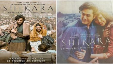 Shikara: Fans Call Out Vidhu Vinod Chopra's Film for Changing the Tagline 'Untold Story of Kashmiri Pandits' to 'Love Story' (Read Tweets)