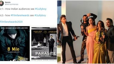 Filmfare Awards 2020: Fans Unhappy With Gully Boy's Award Frenzy, Share Funny Memes and Jokes on Twitter (View Tweets)
