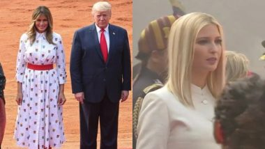 US First Lady Melania Trump, Daughter Ivanka Trump Opt For Shades of White on Day 2 of India Visit