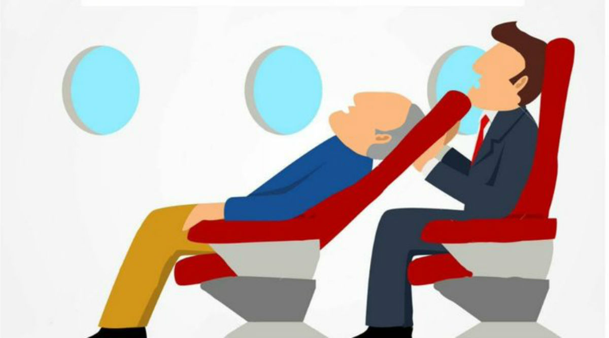 Reclining Aircraft Seats: Recline Carefully, No One Wants Your Head in Their Laps, Aviation Ministry Tells Flyers