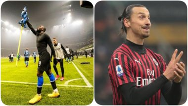 Romelu Lukaku Takes a Jibe at Zlatan Ibrahimovic After Inter Milan Beat AC Milan 4-2, Says, 'There's a New King in Town'