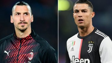 Cristiano Ronaldo vs Zlatan Ibrahimovic: Fans Share Their Excitement on Social Media Ahead of AC Milan vs Juventus Coppa Italia 2020 Semi-Final (Read Tweets)