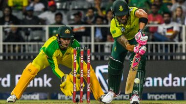 South Africa vs Australia 2nd T20I 2020 Live Streaming on SonyLiv: How to Watch Free Live Telecast of SA vs AUS on TV & Online in India