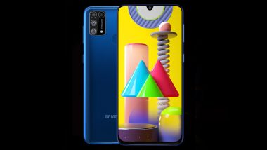 Samsung Galaxy M31 Smartphone Launching Tomorrow in India; Expected Price, Features & Specifications