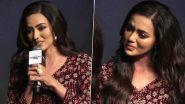 Sana Khan Breaks Down At The Press Meet Of Neeraj Pandey's Hotstar Show Special Ops (Watch Video)