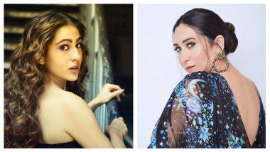 Sara Ali Khan Talks About Her Crush Again, It's Not Kartik Aaryan but Karisma Kapoor