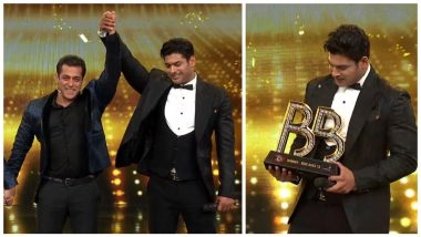Bigg Boss 13 Winner: Sidharth Shukla Takes Home The Trophy
