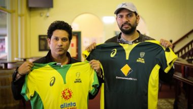 SCG Welcomes Back Yuvraj Singh, Sachin Tendulkar Ahead of Bushfire Cricket Bash