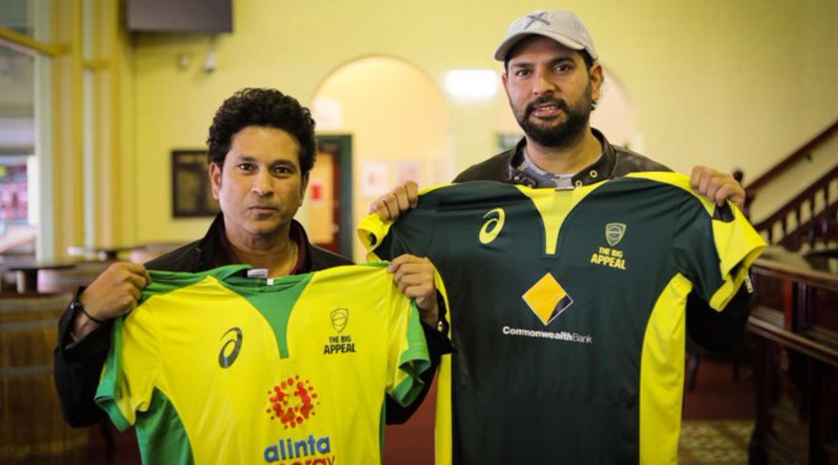 SCG Welcomes Back Yuvraj Singh, Sachin Tendulkar Ahead of Bushfire Cricket Bash
