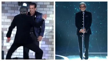 Bigg Boss 13 Grand Finale: Sunil Grover's Impression of Amitabh Bachchan Make Salman Khan Laugh Uncontrollably (Watch Video)