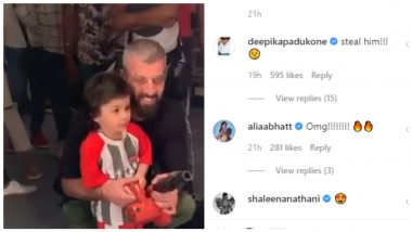 Deepika Padukone Is Also A Fan Of Taimur! Wants to Steal Him From Saif Ali Khan and Kareena Kapoor (Watch Video)