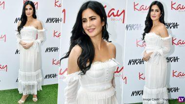 Yo or Hell No? Katrina Kaif's White Maxi Dress for Galentine's Day Celebration