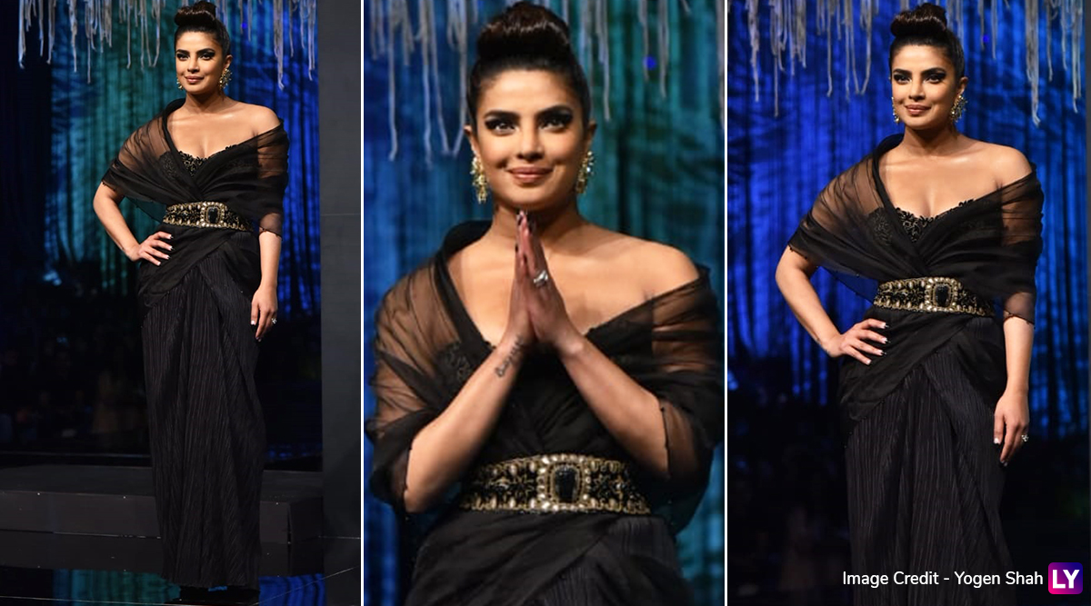 Priyanka Chopra Jonas Looks Every Bit of Gorgeous as the Diva Rules the Runway at Blenders Pride Fashion Tour 2020 (View Pics)