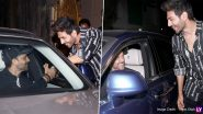 Hrithik Roshan and Kartik Aaryan's Impromptu Meet-and-Greet Win Netizens' Hearts! View Pics