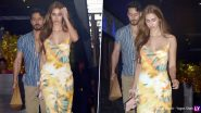Tiger Shroff and Disha Patani Spotted Leaving Together From a Restaurant Post Dinner Date (View Pics)