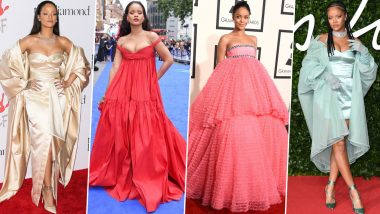 Rihanna Birthday Special: Dear RiRi, Please 'Take a Bow' for Your Remarkable Fashion Outings (View Pics)
