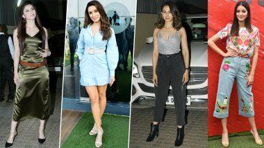 Ananya Panday, Shraddha Kapoor, Rakul Preet Singh's Fashion Appearances Gave us Nightmares this Week (View Pics)