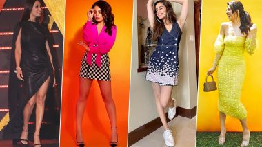 Shraddha Kapoor, Radhika Madan and Jacqueline Fernandez Charm their Way into Our Hearts this Week (View Pics)