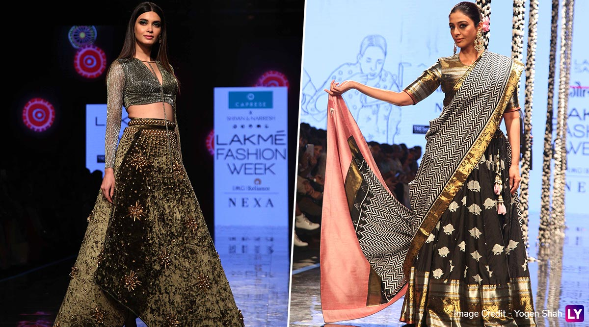 Lakme Fashion Week 2020 Summer/Resort: Diana Penty for Shivan & Narresh and Tabu for Gaurang Shah Exhibit Glamour on the Ramp (View Pics)