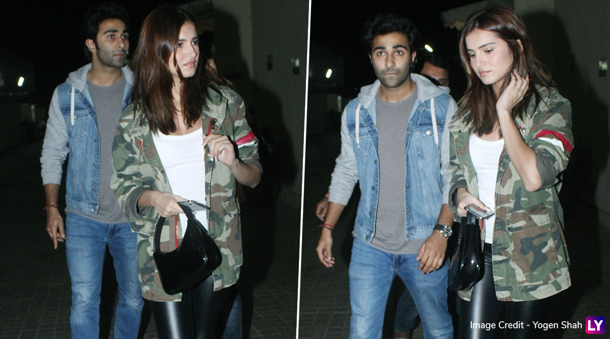 Lovebirds Tara Sutaria and Aadar Jain Step Out For A Movie Date! (View Pics)
