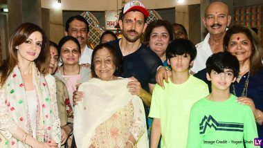 Maha Shivratri 2020: Hrithik Roshan Seeks the Blessings of Lord Shiva with his Kids, Family and ex-wife Sussanne Khan (View Pics)
