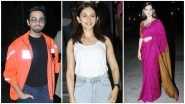 Thappad Screening: Ayushmann Khurrana, Rakul Preet Singh and Others Cheer for Taapsee Pannu-Dia Mirza's Film (See Pics)