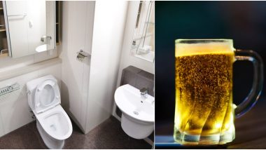 Toilet Manners Matter! Wife Punishes Husband By Pouring Beer Every Time He Leaves The Seat Up