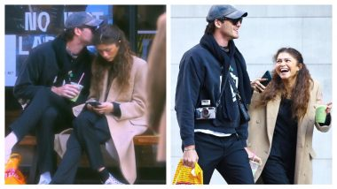 Jacob Elordi Kisses Zendaya On Forehead Sparking Off Romance Rumours Once Again (See Pics)