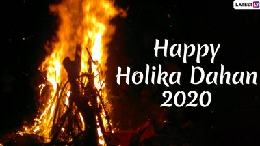 Holika Dahan 2020 Images & HD Wallpapers for Free Download Online: Wish Happy Choti Holi With WhatsApp Stickers, Facebook Greetings and Hike Messages