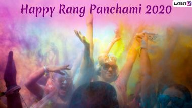 Rang Panchami 2020 Images and HD Wallpapers for Free Download Online: Wish 'Happy Rang Panchami' via WhatsApp Stickers, Facebook Status and GIF Messages