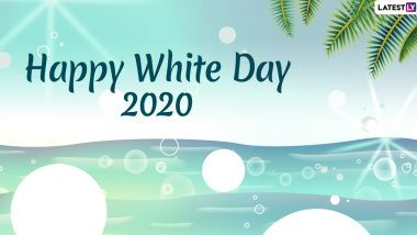 White Day 2020 Images and HD Wallpapers for Free Download Online: Wish Happy White Day With WhatsApp Stickers and GIF Greetings to Mark East Asia's Valentine's Day
