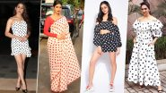 Pretty in Polka Dots! Sara Ali Kha, Deepika Padukone, Priyanka Chopra Show You Why the Print is Always Trendy and Never a Fad